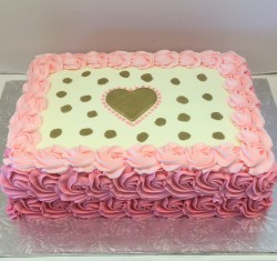 Latest Cake Design For Girl : Birthday Cakes : Les Amis Bake Shoppe